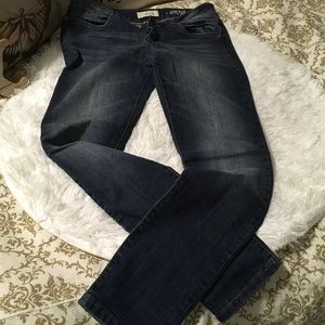 Skinny low rise jeans